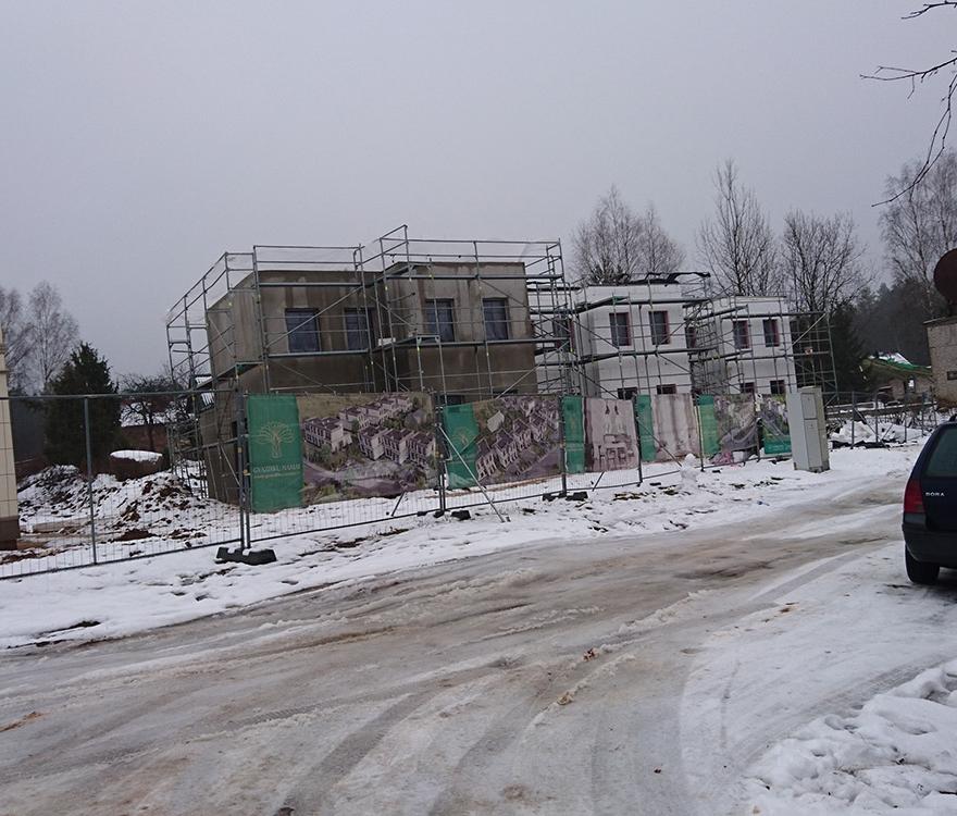 Mūro darbai, fasado šiltinimas