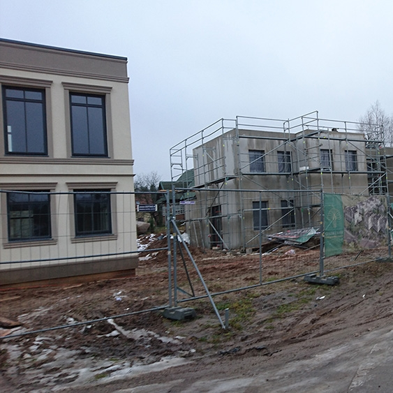 Mūro ir fasado šiltinimo bei apdailos darbai Vilniuje