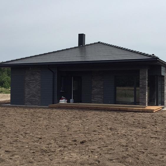 Individualaus namo statyba Palangoje