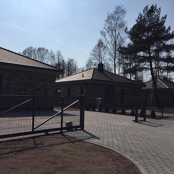 Individualių namų kvartalo statyba Genio g. Kunigiškėse